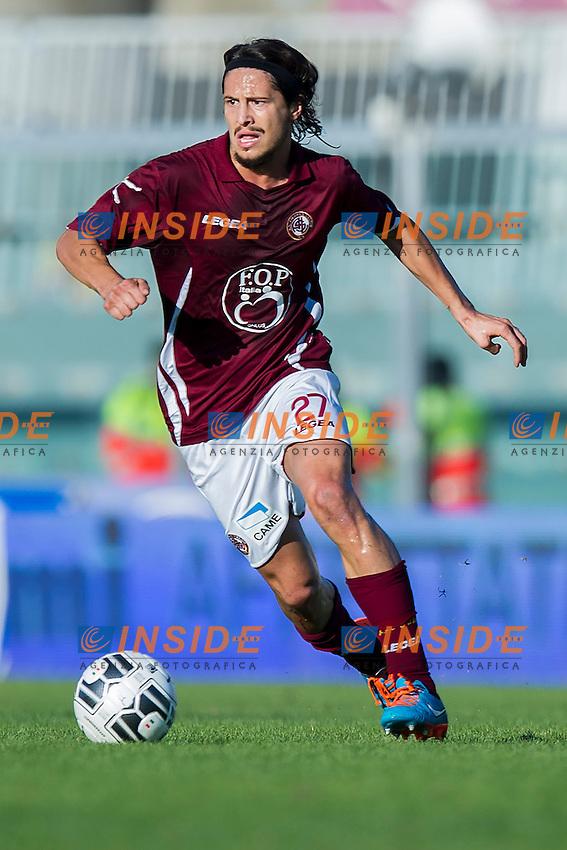 Marco Biagianti Livorno<br /> Livorno 01-11-2014 Stadio Armando Picchi - Football Calcio Serie B 2014 / 2015 Livorno - Bologna<br /> Foto Andrea Masini / Insidefoto