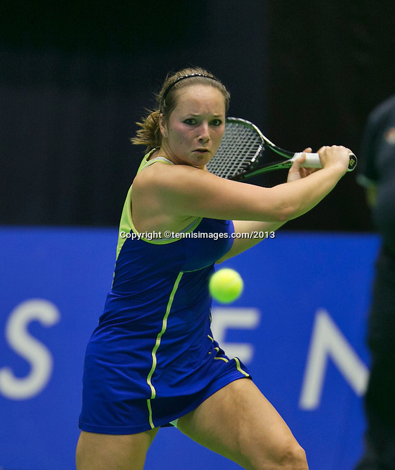 18-12-13,Netherlands, Rotterdam,  Topsportcentrum, Tennis Masters, ,Nicole Thijssen <br /> Photo: Henk Koster