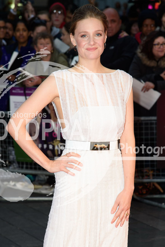 Romola Garai<br /> attends the &quot;Suffragette&quot; premiere which is the opening gala of the London Film Festival 2015, Odeon Leicester Square, London<br /> <br /> &copy;Ash Knotek  D3022  07/10/2015