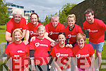 HEALTHY HEARTS: Taking part from the Arlington Lodge Homeless Hostel in the Irish Heart Foundation mini marathon at Brandon hotel on Sunday front l-r: Marilyn O'Mahony Ann O'Sullivan, Melissa Daly and Sheila Curtin. Back l-r: Tom Wall, Marie Kelter, Billy Lynch, Cassie Murphy and Jim McNiece.