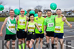 Paul Sheehan, Mike Kissane, Rachel Stokes, David Twoney, Brian Murphy and Fozzy Forristal runners at the Kerry's Eye Tralee, Tralee International Marathon and Half Marathon on Saturday.