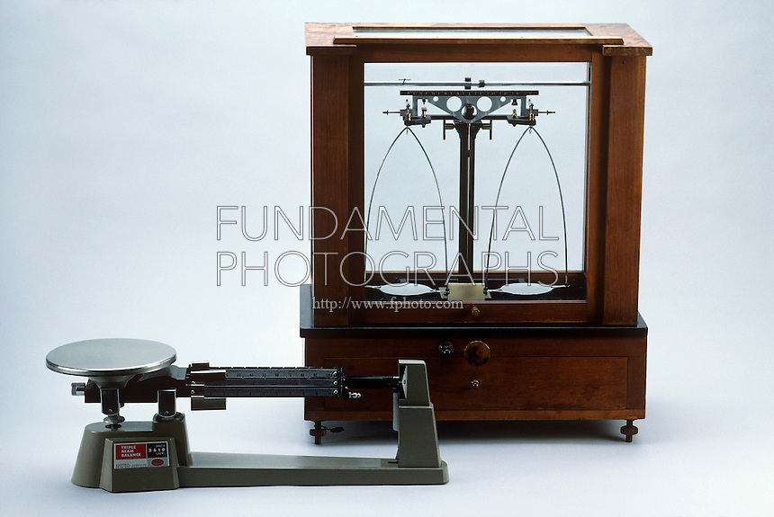 ANALYTICAL AND MECHANICAL BALANCES COMPARED<br />