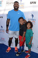 Howie Kendrick<br /> at Clayton Kershaw's Ping Pong 4 Purpose Celebrity Tournament to Benefit Kershaw's Challenge, Dodger Stadium, Los Angeles, CA 08-11-16<br /> David Edwards/DailyCeleb.com 818-249-4998