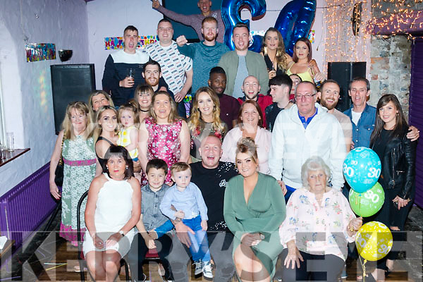 30 Rocks<br /> ------------<br /> Paul Naughton from Tralee had a cracker celebrating his 30th birthday last Saturday night in the Greyhound bar in the town along with many friends and family.