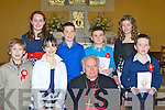 Castledrum NS pupils who made their confirmation in Keel on Monday front row l-r: Michea?l griffin, Nicole Murphy, Garreth Prenderville. Back row: Aoife Corcoran, Anthony O'Shea, Darragh O'Brien, Shanua Courtney.