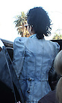 4-17-09.Rihanna goes shopping on Melrose ave in Hollwood ca at a store called Go Ape. .She was wearing a drum Major jacket that looked like something Micahael Jackson would wear...AbilityFilms@yahoo.com.805-427-3519.www.AbilityFilms.com.