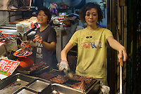 Garküche in Kowloon, Hongkong, China<br /> foodstall in Kowloon, Hongkong, China