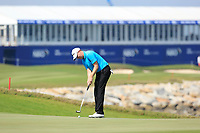 Richard McEvoy (ENG) during the second round of the NBO Open played at Al Mouj Golf, Muscat, Sultanate of Oman. <br /> 16/02/2018.<br /> Picture: Golffile | Phil Inglis<br /> <br /> <br /> All photo usage must carry mandatory copyright credit (&copy; Golffile | Phil Inglis)