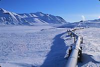 Trans Alaska Pipeline, Brooks Mountain Range, Alaska