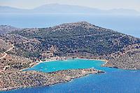 Panormitis Monastery in Symi island, Greece