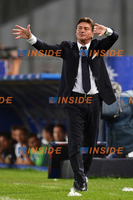 """Walter Mazzarri allenatore del Napoli.Napoli 26/9/2012 Stadio """"San Paolo"""".Football Calcio Serie A 2012/2013.Napoli Vs Lazio.Foto Andrea Staccioli Insidefoto"""
