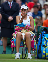 England, London, 28.06.2014. Tennis, Wimbledon, AELTC, Ana Ivanovic (SRB)<br /> Photo: Tennisimages/Henk Koster