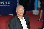 Patrick Braoude arrives at the 'Mr Holmes' Premiere red carpet during the 41st Deauville American Film Festival on September 10, 2015 in Deauville, France