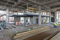 Boathouse at Canal Dock Phase II   State Project #92-570/92-674 Construction Progress Photo Documentation No. 13 on 21 Julyl 2017. Image No. 13