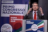 Roma, 8 Gennaio 2015<br /> Benedetto Della Vedova.<br /> Primo congresso nazionale di Scelta Civica per l'Italia