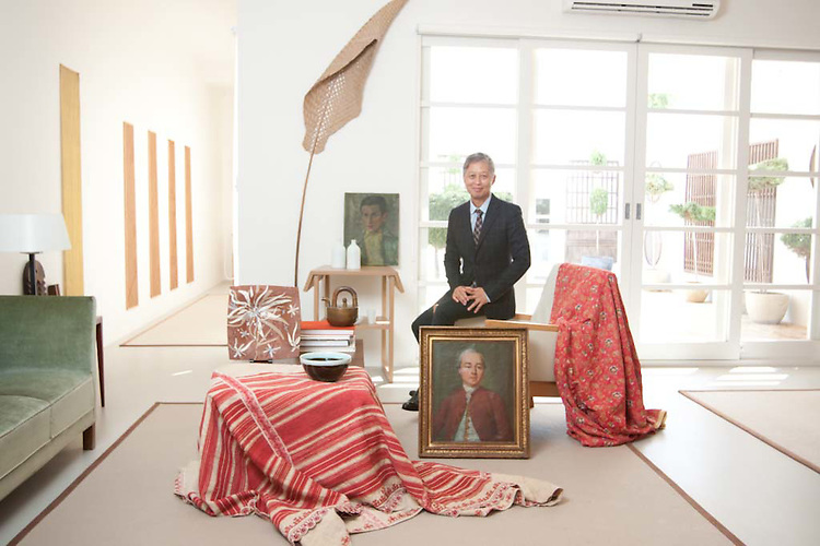 Khai Liew furniture designer based on magill road Adelaide south Australia shows a few of his favourite items