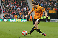 Diogo Jota of Wolverhampton Wanderers during Wolverhampton Wanderers vs Brighton & Hove Albion, Premier League Football at Molineux on 7th March 2020