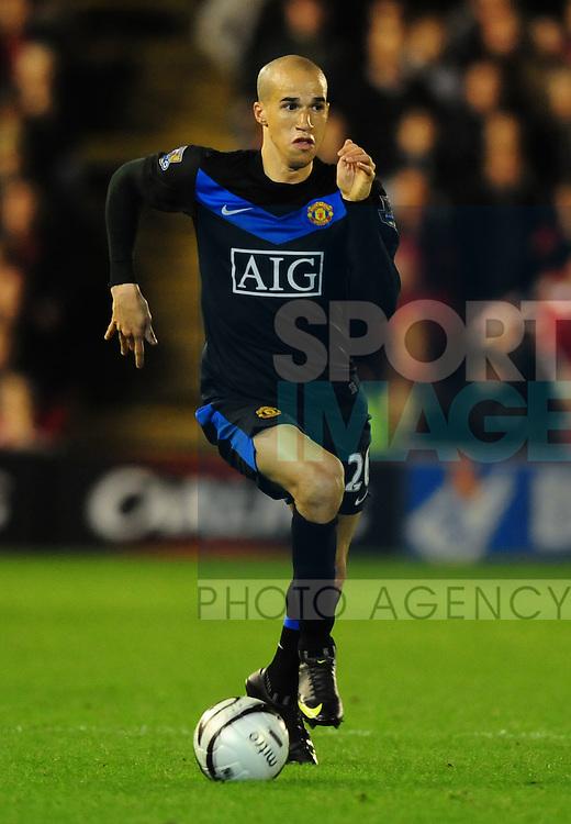 Gabriel Obertan of Manchester United