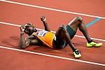 Engeland, London, 9 augustus 2012.Olympische Spelen London.Churandy Martina wordt vijfde op de finale van de 200m voor mannen op de Olympische spelen van London