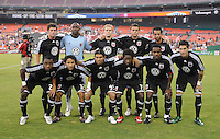 DC United team photo, DC United defeated The Charleston Battery 2-1 to win the US. Open Cup, Wednesday September 3, 2008 at RFK Stadium.
