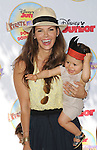 Ali Landry and son arriving at Pirate and Princess: Power Of Doing Good, held at Brookside Park Pasadena, Ca. on August 16, 2014.