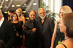 "LOS ANGELES, CA - APRIL 18:  Richard ""Cheech"" Martin and Tommy Chong pose for photographs at the 2013 Rock and Roll Hall of Fame Induction Ceremony at the Nokia Theatre in Los Angeles, CA. (Photo by Dave Eggen/Inertia)"