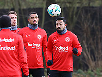Kevin-Prince Boateng (Eintracht Frankfurt), Marco Fabian (Eintracht Frankfurt) - 29.12.2017: Eintracht Frankfurt Training, Commerzbank Arena