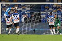 Nikola Maksimovic of Napoli scores a goal<br /> Napoli 30-10-2019 Stadio San Paolo <br /> Football Serie A 2019/2020 <br /> SSC Napoli - Atalanta BC<br /> Photo Cesare Purini / Insidefoto