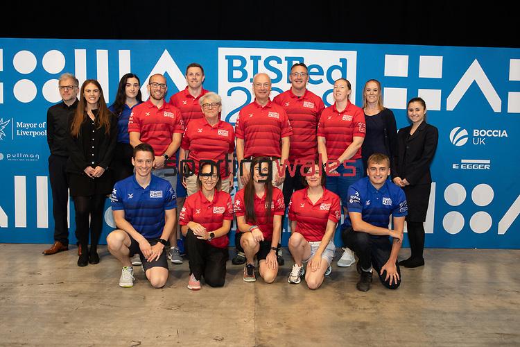 BISFed 2018 World Boccia Championships <br /> Exhibition Centre Liverpool<br /> 17.08.18<br /> &copy;Steve Pope<br /> Sportingwales