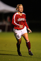 14 September 2007: Stanford Cardinal Alicia Jenkins during Stanford's 3-2 win in the Stanford Invitational against the Missouri Tigers at Maloney Field in Stanford, CA.
