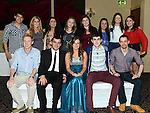Sarah Byrne celebrating her 21st birthday in the Westcourt hotel with all her friends. Photo:Colin Bell/pressphotos.ie