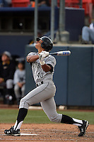 February 21 2010: Jonathan Jones of Cal. St. Long Beach during game against Cal. St. Fullerton at Goodwin Field in Fullerton,CA.  Photo by Larry Goren/Four Seam Images