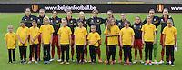 Belgian Red Flames - Nederland :<br /> <br /> Het team van Belgi&euml; tijdens de nationale hymne<br /> <br /> foto Dirk Vuylsteke / Nikonpro.be