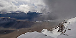 The Dias, Lake Vanda and the Wright Valley. The Dry Valleys. Antarctica.