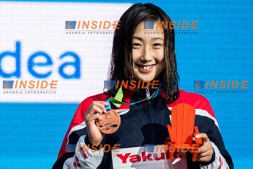 IGARASHI Chihiro JPN Bronze Medal<br /> Women's 400m Freestyle<br /> 13th Fina World Swimming Championships 25m <br /> Windsor  Dec. 9th, 2016 - Day04 Finals<br /> WFCU Centre - Windsor Ontario Canada CAN <br /> 20161209 WFCU Centre - Windsor Ontario Canada CAN <br /> Photo &copy; Giorgio Scala/Deepbluemedia/Insidefoto