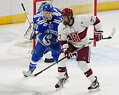 Evan Feno (AFA - 18), Lewis Zerter-Gossage (Harvard - 77) - The Harvard University Crimson defeated the Air Force Academy Falcons 3-2 in the NCAA East Regional final on Saturday, March 25, 2017, at the Dunkin' Donuts Center in Providence, Rhode Island.