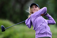 Silvia Brunotti. New Zealand Stroke Play Championships, Paraparaumu Golf Course, Paraparaumu Beach, Kapiti Coast, Saturday 24 March 2018. Photo: Simon Watts/www.bwmedia.co.nz