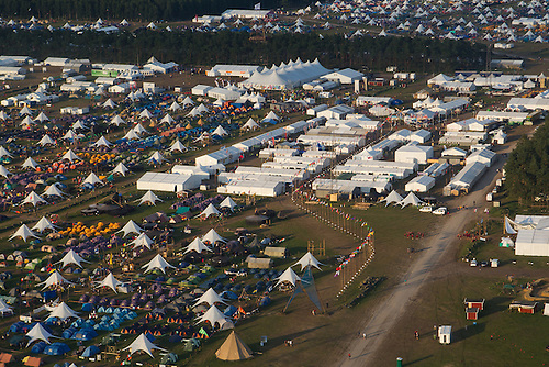 Aerial photography, Heli photo, World Scout CentrePhoto: Jesper Landby/Scouterna