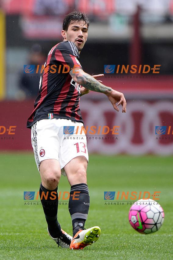Alessio Romagnoli Milan<br /> Milano 01-05-2016 Stadio Giuseppe Meazza - Football Calcio Serie A Milan - Frosinone. Foto Giuseppe Celeste / Insidefoto