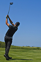 Haydn Porteous (RSA) on the 6th tee during Round 3 of the Rocco Forte Sicilian Open 2018 played at Verdura Resort, Agrigento, Sicily, Italy on Saturday 12th May 2018.<br /> Picture:  Thos Caffrey / www.golffile.ie<br /> <br /> All photo usage must carry mandatory copyright credit (&copy; Golffile   Thos Caffrey)