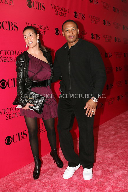 WWW.ACEPIXS.COM . . . . .  ....November 19 2009, New York City....Dr. Dre (Right) and Guest arriving at the Victoria's Secret 2009 fashion show at the Armoury on November 19 2009 in New York City....Please byline: NANCY RIVERA- ACEPIXS.COM.... *** ***..Ace Pictures, Inc:  ..Tel: 646 769 0430..e-mail: info@acepixs.com..web: http://www.acepixs.com