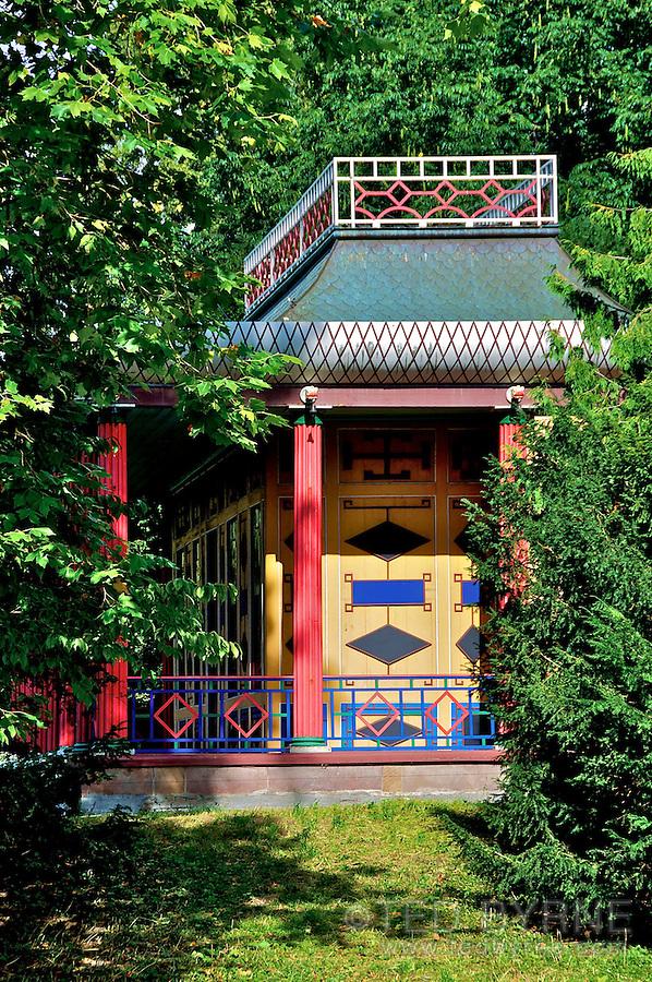 Chinese summerhouse in Frederiksberg Park, Copenhagen