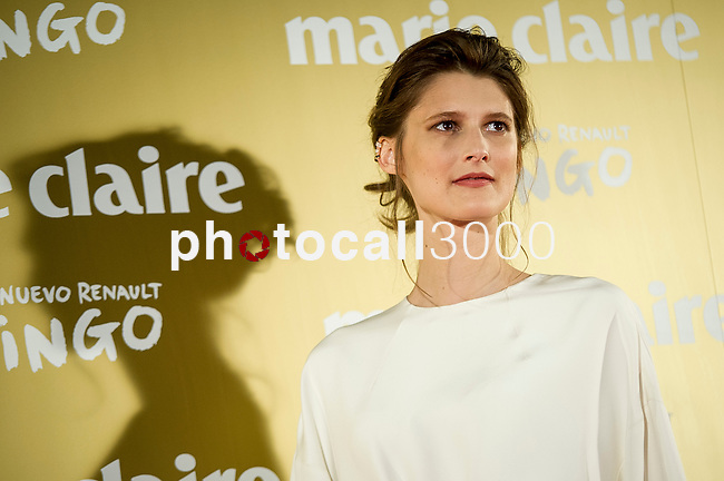 Poses during a photo session at the opening of a Marie Claire prix awards  in Madrid. 2014/11/19. Samuel de Roman / Photocall3000