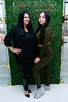 NEW YORK, NY - FEBRUARY 5: Karen Gravano and Karina Seabrook  at Urban Skin RX Valentine's Day Spa Party hosted by Eva Marcille and Rachel Roff at Pure Space  on February 5, 2019 in New York City. <br /> CAP/MPI/DC<br /> ©DC/MPI/Capital Pictures