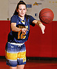 Kathleen Doherty #12 of Massapequa makes a pass during a Nassau County AA-1 varsity girls basketball game against host Freeport High School on Friday, Dec. 22, 2017. Massapequa won by a score of 43-39.