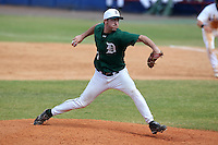 Dartmouth Big Green pitcher Ryan Smith #17 delivers a pitch during a game vs. the Northwestern Wildcats at Chain of Lakes Park in Winter Haven, Florida;  March 20, 2011.  Northwestern defeated Dartmouth 3-2.  Photo By Mike Janes/Four Seam Images