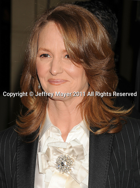 HOLLYWOOD, CA - January 29: Melissa Leo arrives at the 63rd Annual DGA Awards held at the Grand Ballroom at Hollywood & Highland Center on January 29, 2011 in Hollywood, California.