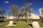 Israel, Southern Coastal plain. Story park in Holon