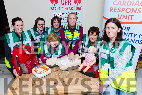 Patricia Murphy and the Barradubh Cardiac Responce Unit who are holding a CPR Start A Heart Day on Sunday November 12th Mairead Kenny, Patricia McCarthy, Kay murphy, Helena Kelliher, Joan Heapes, Una O'Connor