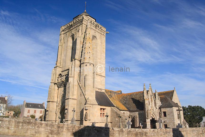 France, Finistère (29), Primelin, hameau de Saint-Tugen, la chapelle Saint-Tugen // France, Finistere, Primelin, hamlet of Saint-Tugen, chapel Saint-Tugen
